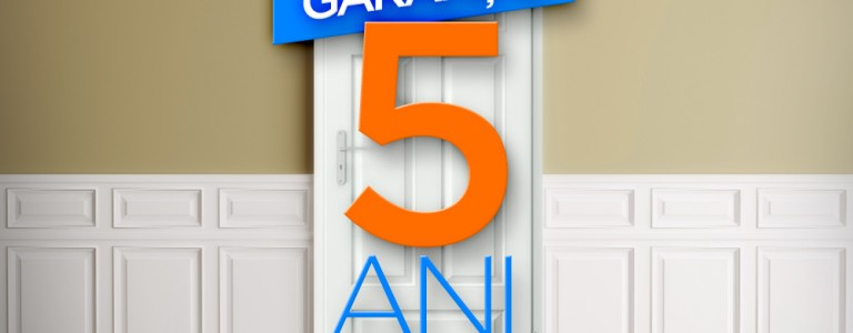 5 ani garantie pentru usi de interior si exterior Porta Doors
