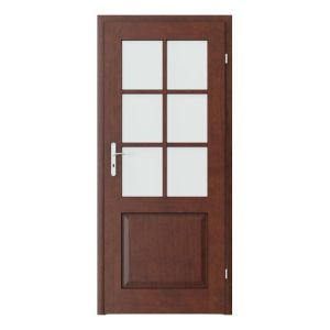 Cordoba grila mica model usi interior cu furnir natural Porta Doors