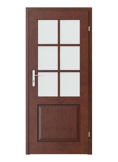 Cordoba grila mica model usi interior cu furnir natural Porta Doors