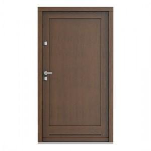 Eco Nord model plina usa de exterior pentru intrare in casa din lemn stratificat de stejar - Porta Doors prin Usamea.ro