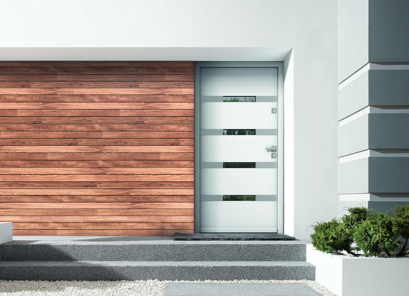 Eco Polar Pasiv gama de usi exterior lemn stratificat de stejar cu miez termoizolant Porta Doors - usamea