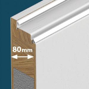 Eco Polar Pasiv gama usi exterior lemn stratificat