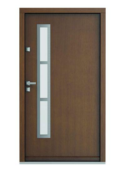 Eco Polar model 1 usa de exterior pentru intrare in casa din lemn stratificat de stejar Porta Doors prin Usamea.ro