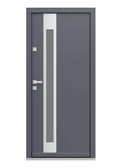 Eco Polar Pasiv model 2 usa de exterior pentru intrare in casa din lemn stratificat de stejar - Porta Doors