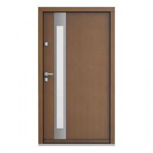 Eco Polar model 2 usa de exterior pentru intrare in casa din lemn stratificat de stejar Porta Doors prin Usamea.ro