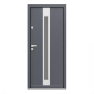 Eco Polar Pasiv model 3 usa de exterior pentru intrare in casa din lemn stratificat de stejar - Porta Doors