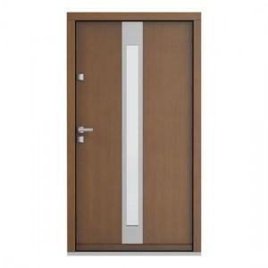Eco Polar model 3 usa de exterior pentru intrare in casa din lemn stratificat de stejar Porta Doors prin Usamea.ro