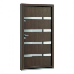 Eco Polar model 4 usa de exterior pentru intrare in casa din lemn stratificat de stejar Porta Doors prin Usamea.ro