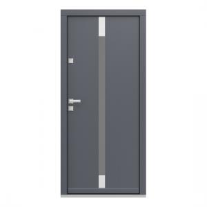 Eco Polar Pasiv model 5 usa de exterior pentru intrare in casa din lemn stratificat de stejar - Porta Doors