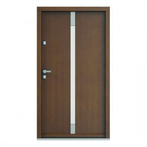 Eco Polar model 5 usa de exterior pentru intrare in casa din lemn stratificat de stejar Porta Doors prin Usamea.ro