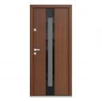Eco Polar Pasiv model C.3 usa de exterior pentru intrare in casa din lemn stratificat de stejar Porta Doors