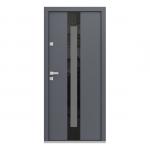 Eco Polar Pasiv model C.3 usa de exterior pentru intrare in casa din lemn stratificat de stejar - Porta Doors