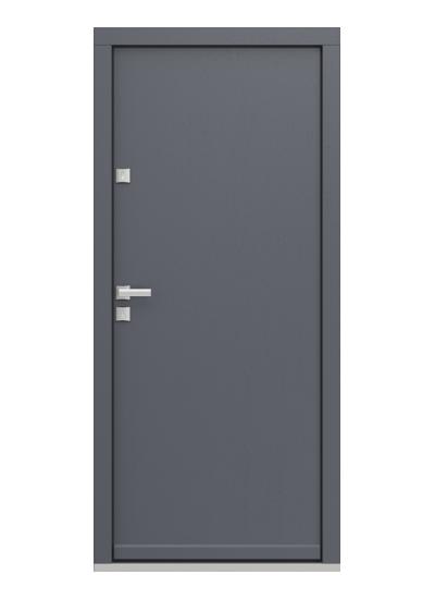 Eco Polar Pasiv model plina usa de exterior pentru intrare in casa din lemn stratificat de stejar - Porta Doors