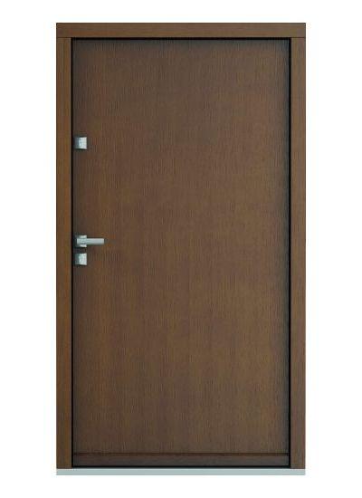 Eco Polar model plina usa de exterior pentru intrare in casa din lemn stratificat de stejar Porta Doors prin Usamea.ro