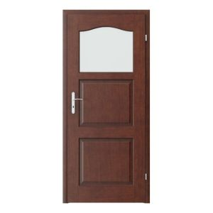 Madrid geam mic model usi interior cu furnir natural Porta Doors