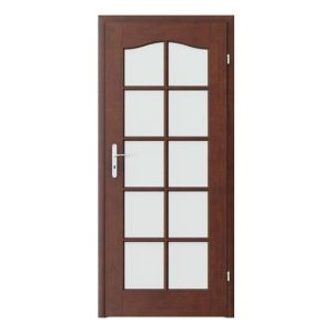 Madrid grila mare model usi interior cu furnir natural Porta Doors