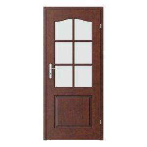 Madrid grila mica model usi interior cu furnir natural Porta Doors