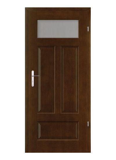 Malaga B.1 model usi interior cu furnir natural Porta Doors