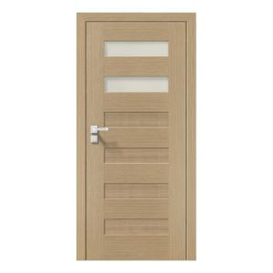 Natura Concept C.2 model usi interior lemn furnir natural Porta Doors