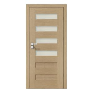 Natura Concept C.4 model usi interior lemn furnir natural Porta Doors