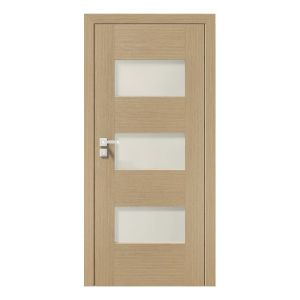 Natura Concept K.3 model usi interior lemn furnir natural Porta Doors