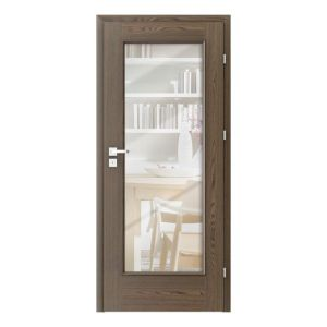 Nova Natura 2.2 cu oglinda model usi interior lemn furnir natural Porta Doors