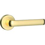 Porta Accent auriu mat maner usi interior cu rozeta