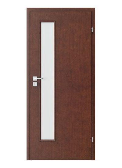 Porta Clasic 1.4 model usi interior lemn furnir natural Porta Doors
