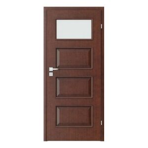 Porta Clasic 5.2 model usi interior lemn furnir natural Porta Doors