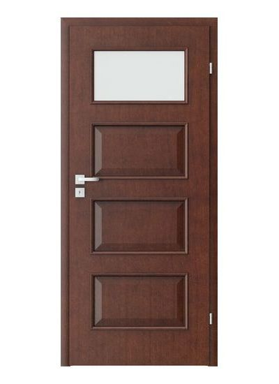 Porta Clasic 5.2 model usi interior lemn furnir natural Porta Doors