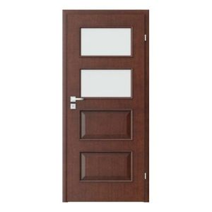 Porta Clasic 5.3 model usi interior lemn furnir natural Porta Doors