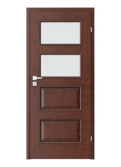 Porta Clasic 5.3 model usi interior lemn furnir natural Porta Doors
