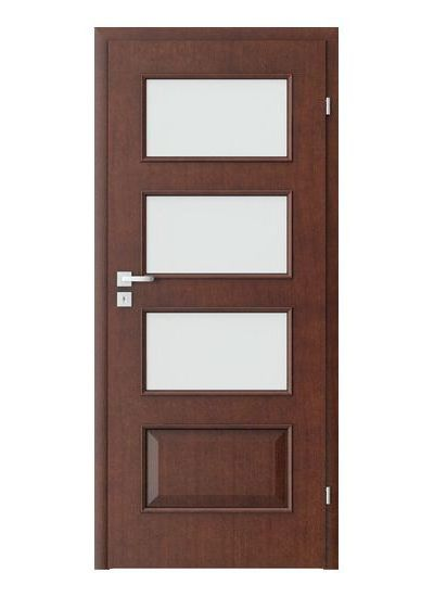 Porta Clasic 5.4 model usi interior lemn furnir natural Porta Doors