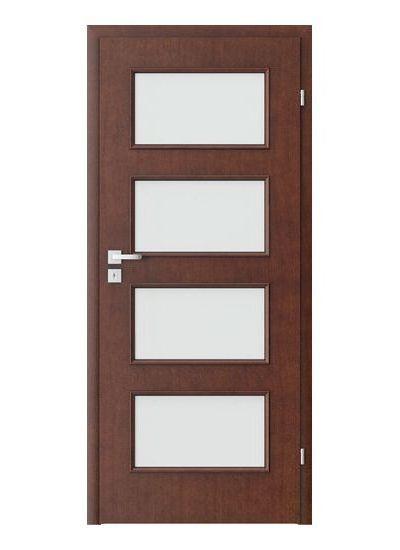 Porta Clasic 5.5 model usi interior lemn furnir natural Porta Doors
