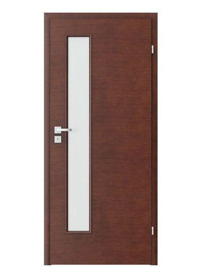 Porta Clasic 7.4 model usi interior lemn furnir natural Porta Doors