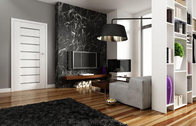 Porta Concept A.9 - model usi interior culoare alba din lemn Porta Doors
