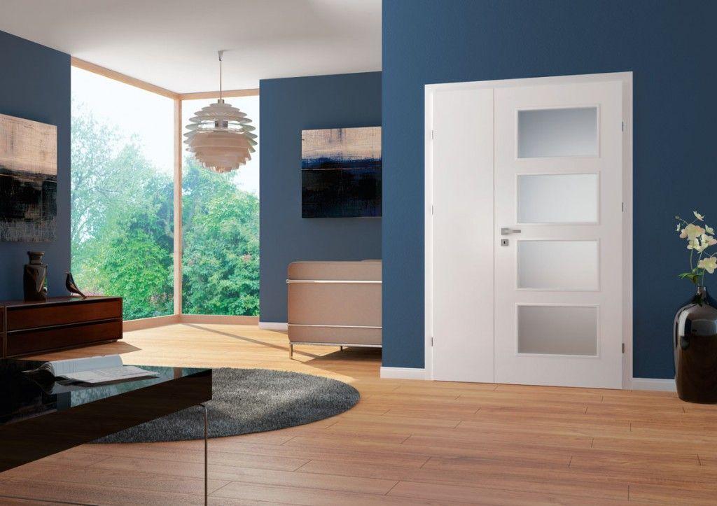 Porta Fit H.4 - model usi inteiror culoare alba din lemn Porta Doors
