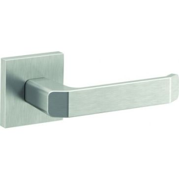 Porta Next argintiu mat maner inox usi interior cu rozeta Porta Doors