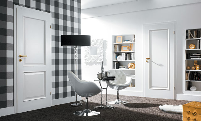 Porta Nova 3.1 - modele usi interior culoare alba din lemn Porta Doors