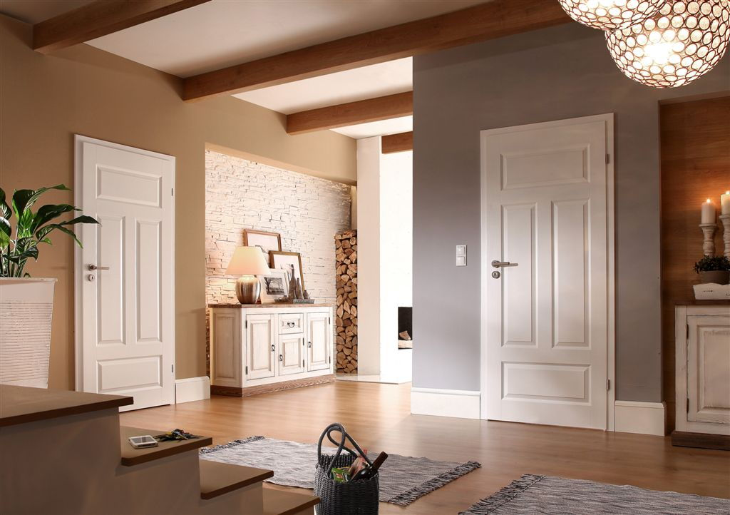 Porta Royal plina - model usi interior culoare alba din lemn Porta Doors