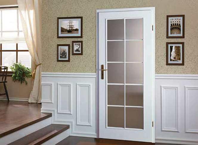 Porta Viena grila mare - usi interior culoare alba din lemn Porta Doors