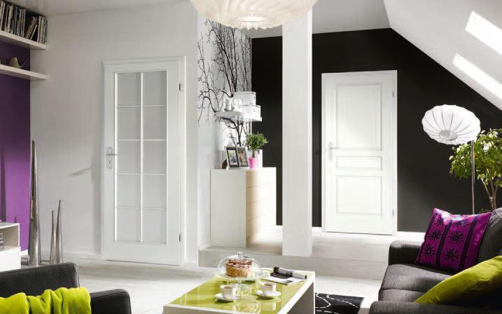 Porta Viena - modele de usi interior culoare alba din lemn Porta Doors