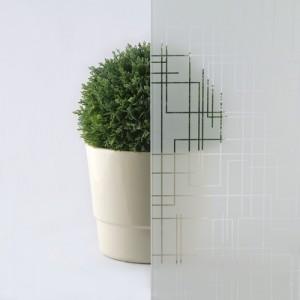 Sah alba transparenta model de sticla pentru usi de interior lemnPorta Doors