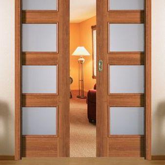 Sistem de glisare Compact pentru usi glisante interior Porta Doors dublu