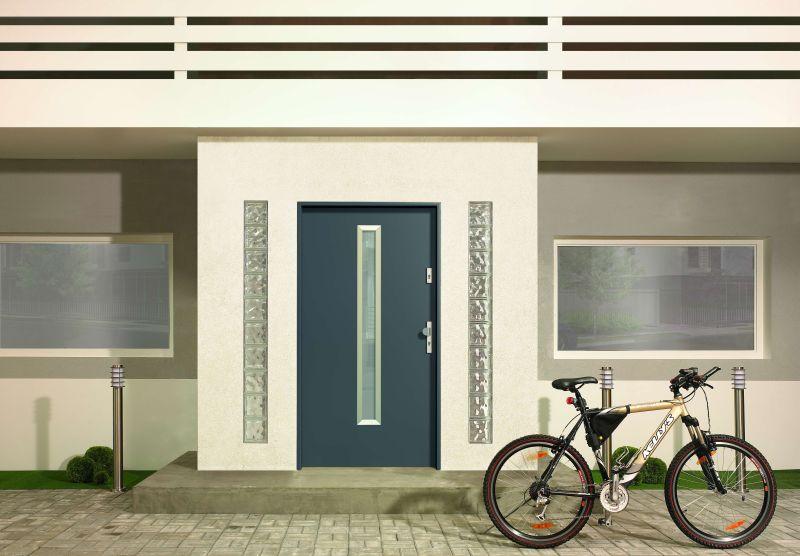 Usi de exterior metalice modele gama Roma Porta Doors