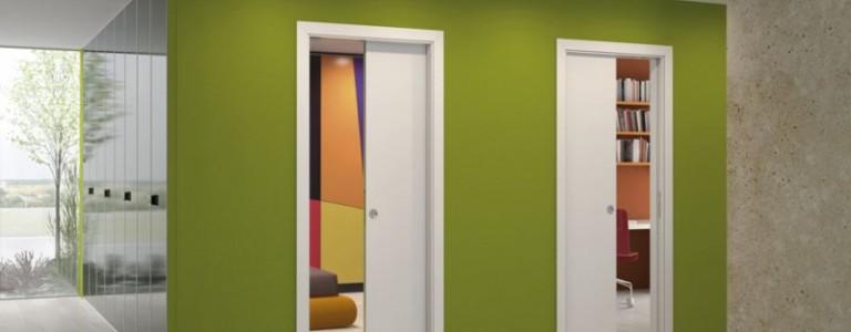 Usi glisante interior in perete Porta Doors