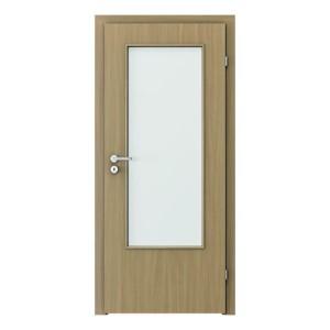 Verte Basic geam mare model usi interior mdf Verte Doors