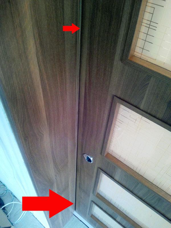 alte repere vizuale pentru reglaj usa glisanta