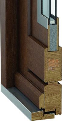 detaliu constructie usi exterior Eco Nord - Porta Doors