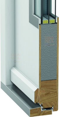 detaliu constructie usi exterior Eco Polar Pasiv - Porta Doors